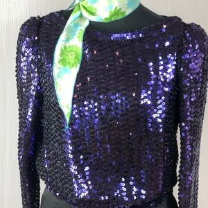 Rock ⭐️ piece right here➡️ RARE sequined blouse